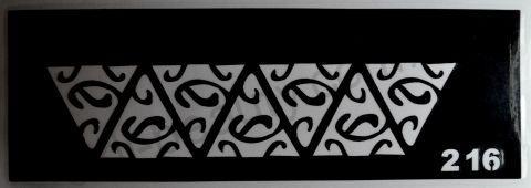 Трафареты для боди-арта, био-тату  L216