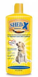 SynergyLabs ШЕД-ИКС ДОГ (Shed-X Dog) добавка для шерсти против линьки для собак 0,245мл