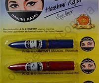 Сурьма для глаз черная в карандаше, каджал (Пакистан) HASHMI kajal