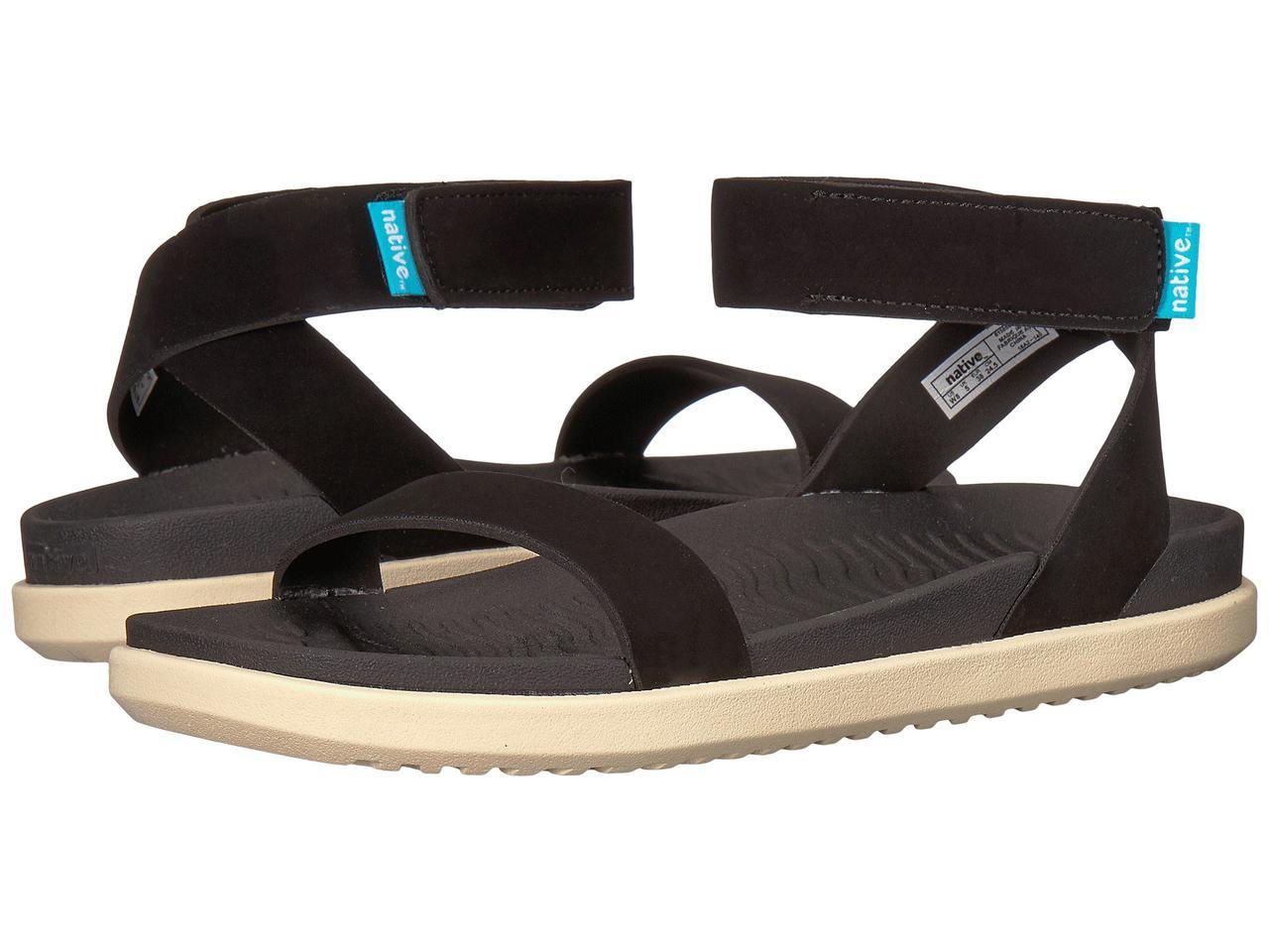 Сандали/Вьетнамки (Оригинал) Native Shoes Juliet Jiffy Black/Bone White