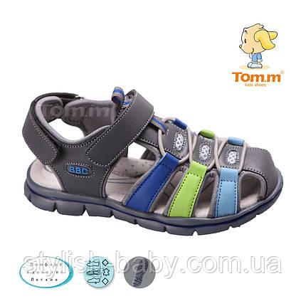 Детская коллекция летней обуви 2018. Детские босоножки бренда Tom.m для мальчиков (рр. с 26 по 31), фото 2