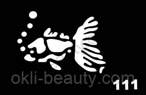 Трафареты для боди-арта, био-тату  L111