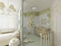 Художественная роспись стен в интерьере от дизайн-студии «Artinterior»