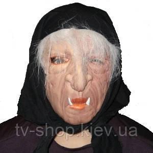 Латексная  маска Баба Яга