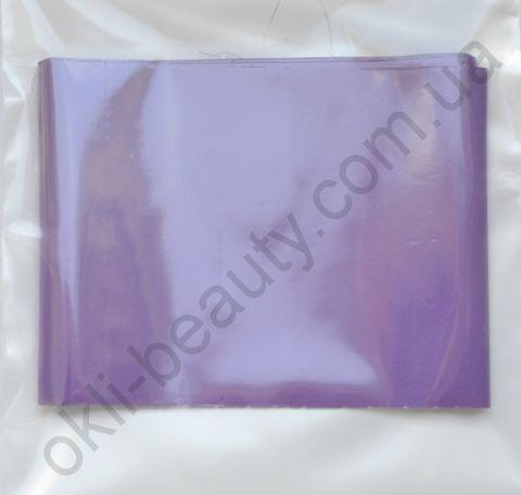 Фольга для дизайна ногтей, литья (переводная). Цвет: матовая фиолетовая(Размер: 4см на 1 метр)