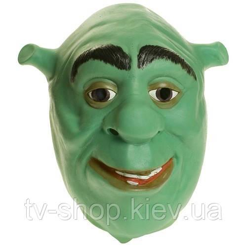 Латексная маска Шрек