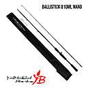 Удилище Yamaga Blanks Ballistick 810ML/Nano River Custom, фото 2