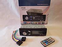 Автомагнитола 1133 Bluetooth, MP3, FM, USB(2), SD, AUX (аналог Pioneer)