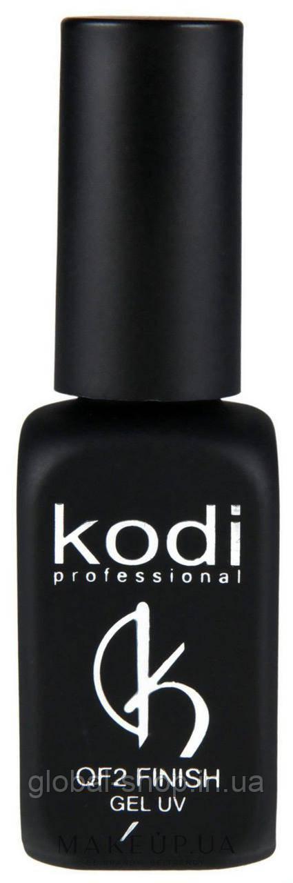Финишное покрытие топ коди Kodi QF2 Finish Gel без липкого слоя, 12 мл ,для геля и акрила