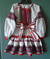 Плаття -вишиванка для дівчинки 4-6 років