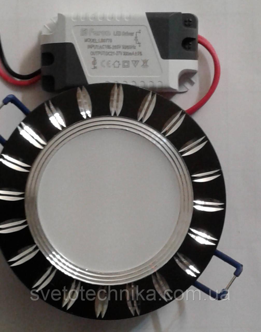 Светодиодный светильник Feron AL779 5W  (корпус -черный)
