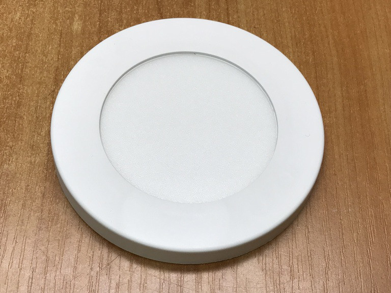Світлодіодний світильник накладної ультратонкий SL7L 7W 5000K круглий білий Код.59253