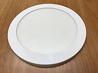 Светодиодный cветильник накладной потолочный SL18L 18W 5000K круглый белый Код.59255