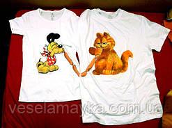 Одеваем любимых в крутые парные футболки