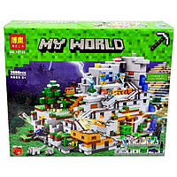 Конструктор Bela 10735 Майнкрафт Minecraft Горная пещера 2886 деталей, фото 1