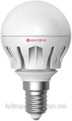 Electrum LB-14 6W E14 4000K алюм. корп. A-LB-0306