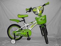 Детский двухколесный велосипед Azimut HUNTER 14''