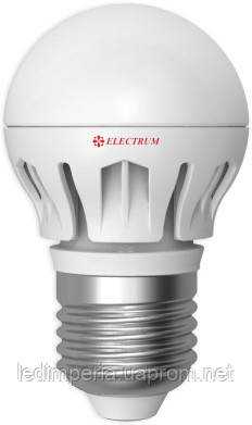 Electrum LB-14 6W E27 4000K алюм. корп.