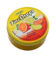 Льодяники Fine Drops Woogie зі смаком апельсина і лимона, 200 гр
