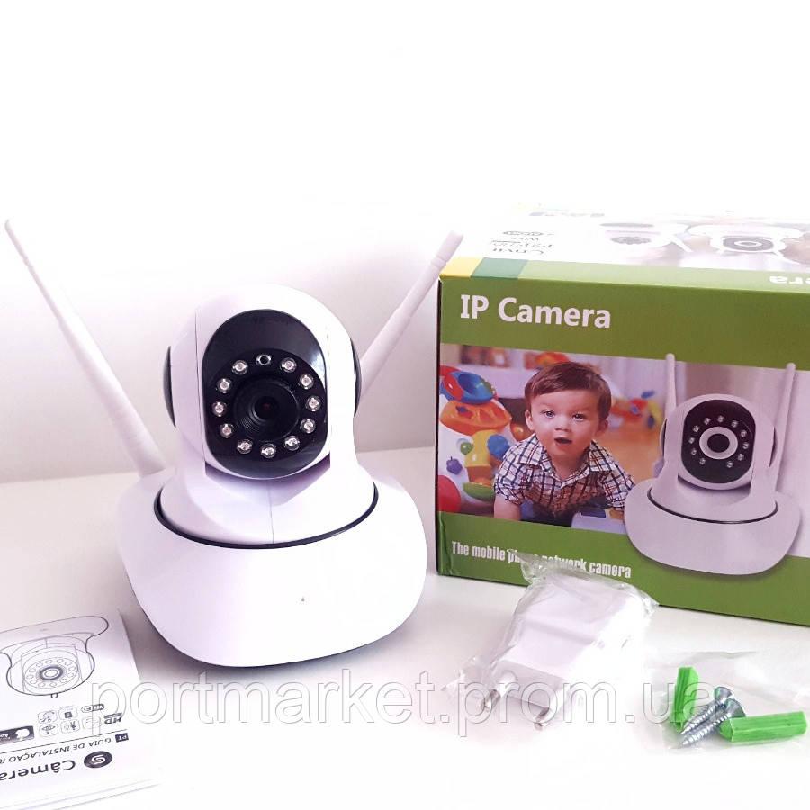 Беспроводная  поворотная IP Camera  WIFI IP P2P  Onvif  HD WiFi  (видеоняня)