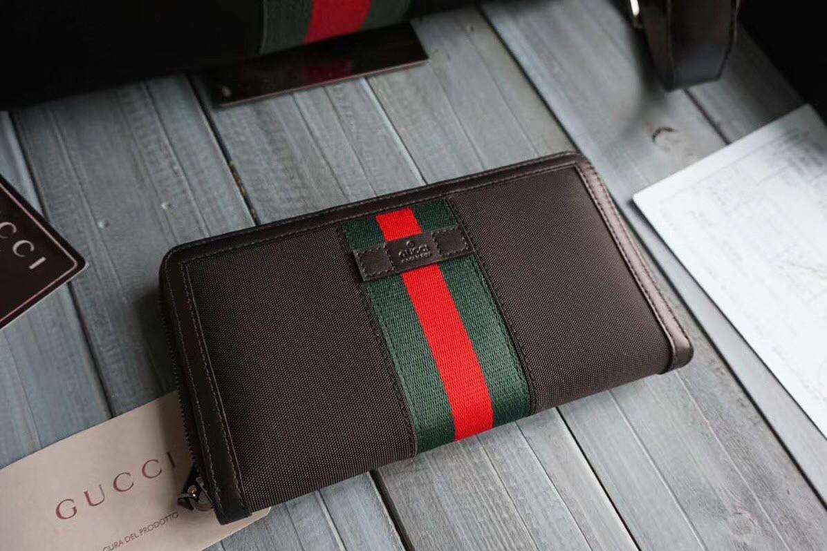 Текстильный кошелек Gucci