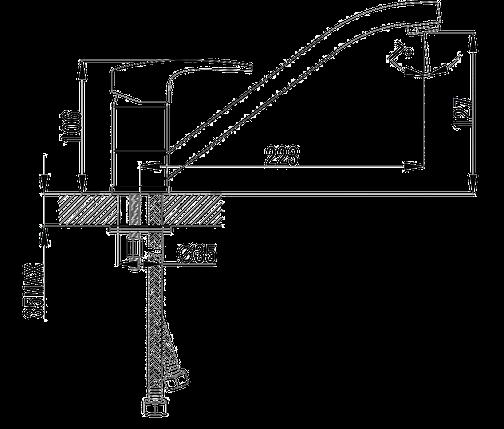 Смеситель для кухни Imprese Jesenik, фото 2