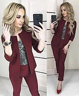 Женский костюм - пиджак и брюки,норма и батал