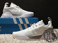 Женские кроссовки Adidas F/1.4 PrimeKnit White BY9396, фото 3