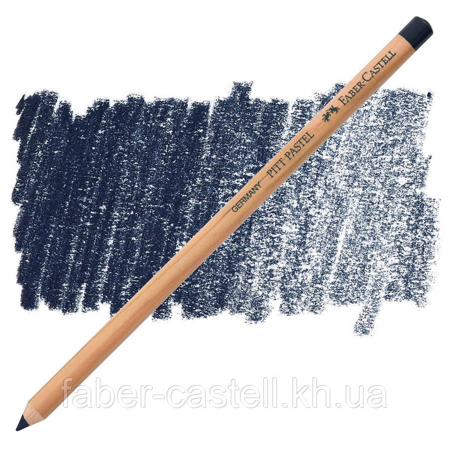 Карандаш пастельный Faber-Castell PITT темный индиго ( pastel dark indigo) № 157, 112257