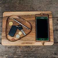 Подставка для смартфона с дерева Плей, фото 1