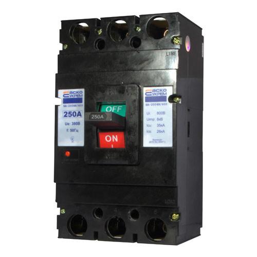Автоматический выключатель ВА-2004N/63  3р  63А (АСКО)