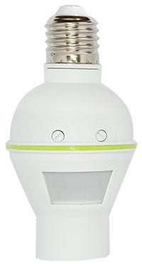 Инфракрасный датчик движения с цоколем АСКО-УКРЕМ ДР-450 белый