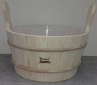 Шайка SAWO 300-TP ( 9 л, пластиковая вставка)