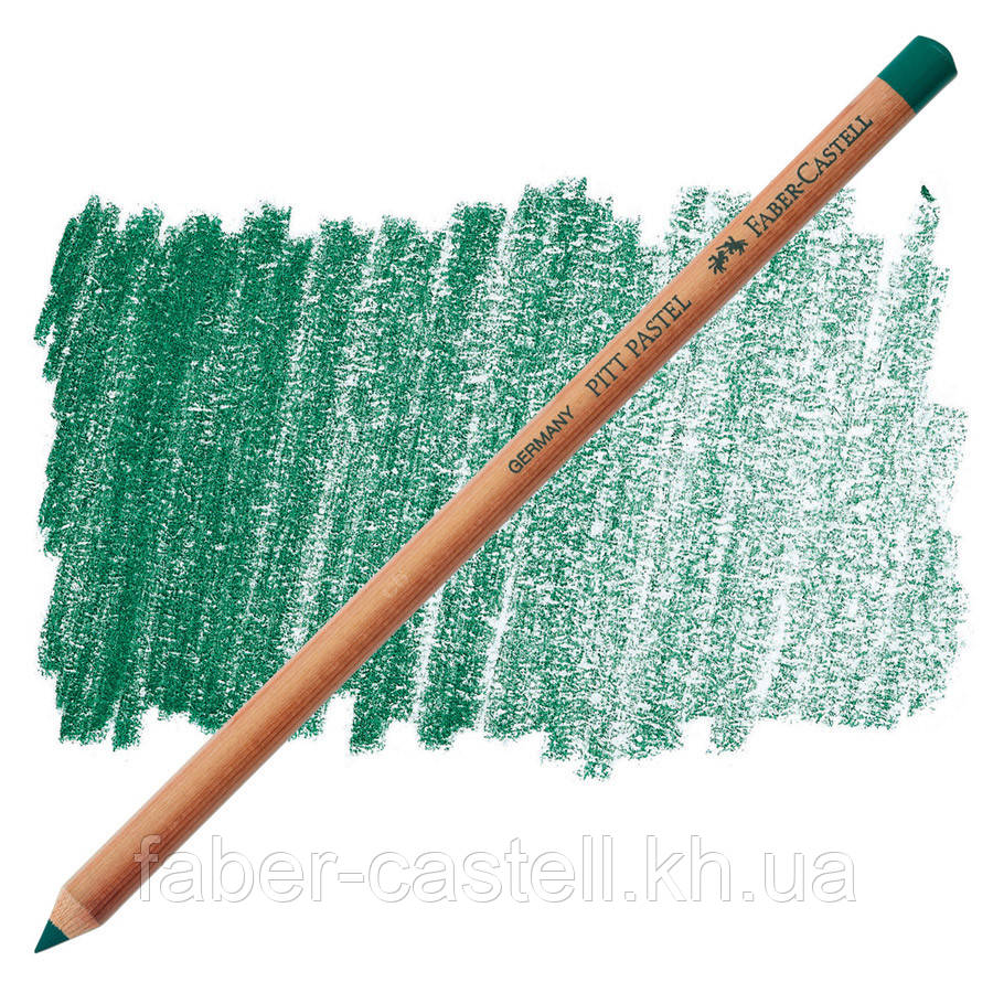 Карандаш пастельный Faber-Castell PITT зеленый Хукер ( pastel Hooker's green) № 159, 112259