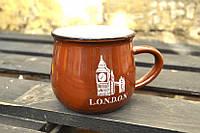 Чашка кувшин Zakka City коричневая