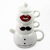 Набор для чая Мистер и Миссис, фото 1