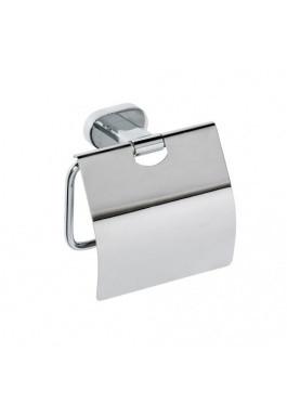 BEMETA OVAL: Держатель туалетной бумаги с крышкой