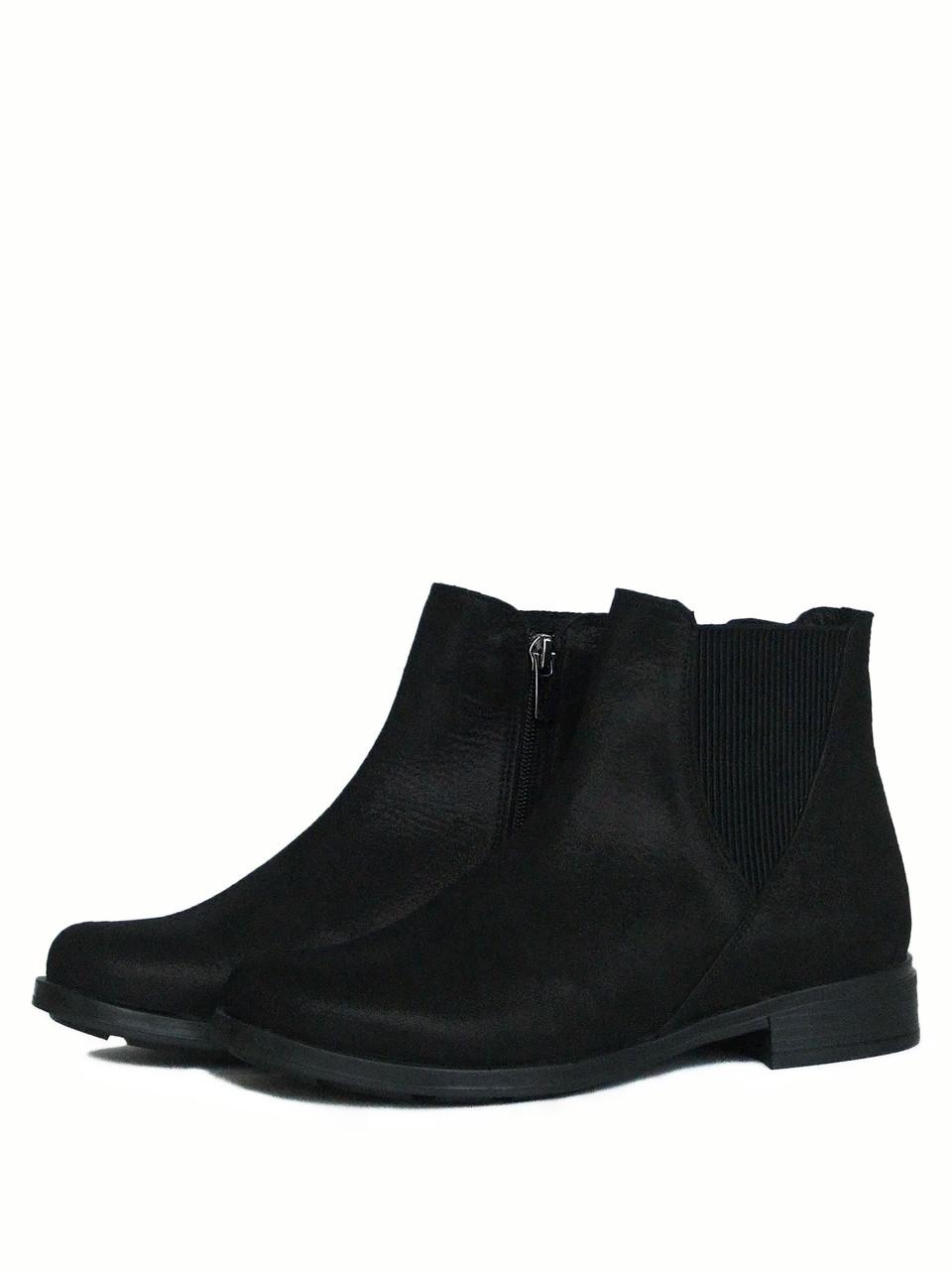 Элегантные челси ботинки женские