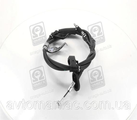 Трос ручного тормоза ручника HYUNDAI TUCSON 04-10 лев., L=1710/1547 Гарантия!