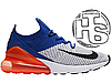 Мужские кроссовки Nike Air Max 270 Flyknit Blue/Red/White AO1023-101