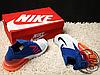 Мужские кроссовки Nike Air Max 270 Flyknit Blue/Red/White AO1023-101, фото 4