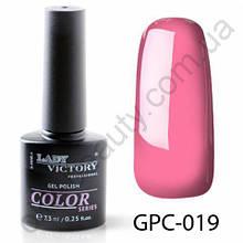 Цветной гель-лак Lady Victory, 7,3 ml GPC-019