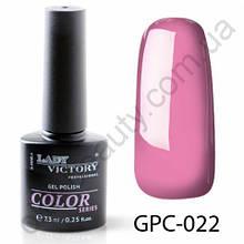 Цветной гель-лак Lady Victory, 7,3 ml GPC-022