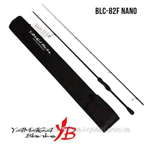 Удилище Yamaga Blanks Blue Current BLC-82F Nano