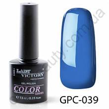 Цветной гель-лак Lady Victory, 7,3 ml GPC-039
