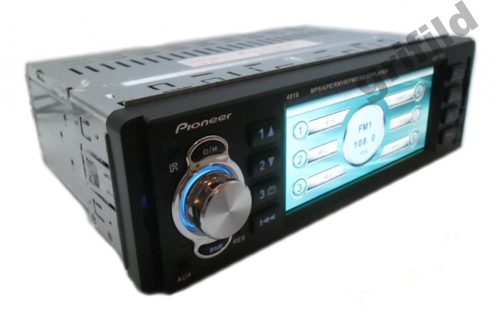 Автомагнитола Pioneer 4016 USB MP3 видео магнитола 4016i, ЭКРАН 4,1 ДЮЙМА