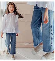 Детские джинсы для девочки клёш , фото 1