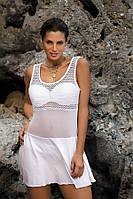 Пляжное платье-туника Ines 387 от TM Marko (Польша) Цвет 1 Белый