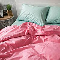 Двуспальный евро комплект постельного белья (поплин)