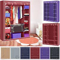 Шкаф гардероб тканевый Wardrobe Closet (3 секции), фото 1